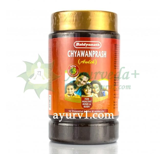 Чаванпраш авалеха Chyawanprash Awaleh Baidyanath 1 кг