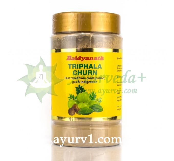Трифала Чурна, Байдинатх, Triphala Churna, Baіdyanath, 500 г