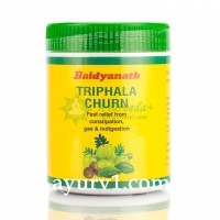Трифала  порошок / Triphala Churn, Baidyanath / 120 gr