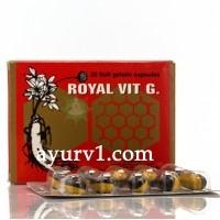 Витамины Королевские с женьшенем /Royal Vit G/ Египет/20 кап.