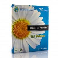 Специальный стиральный порошок для стирки вещей деток возрастом от 1 месяца до 1 года / Royal Powder Baby / 1 кг