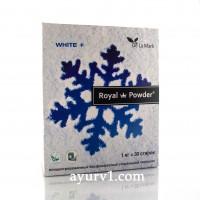 Специальный стиральный порошок для стирки белых вещей / Royal Powder White / 1 кг