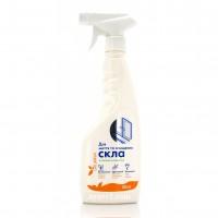 Средство для мытья и очищения стекла DeLaMark со свежим ароматом, 0.5 л