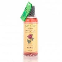 Массажное масло, Роза / Massage Oil, Rose, Magic of India / 100 ml