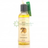 Массажное масло, Magic of India Massage Oil Sandalwood, 100ml