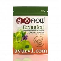 Леденцы из Амлы, от боли в горле / Indian Gooseberry Herbal Lozenges,  UE COF 18 г