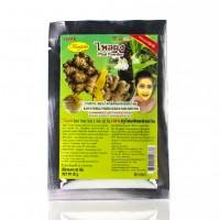 Натуральная порошковая маска-скраб с травой пхай для раздраженной кожи от торговой марки Исми Rasyan / 20 г