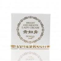 Ночной отбеливающий крем для лица Биоаква, Beauty muscle run lady cream, Bioaqua, Китай, 50 г