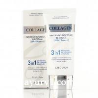 Осветляющий ВВ крем с коллагеном  Enough Collagen Whitening Moisture BB Cream SPF 47 / PA+++ 50г