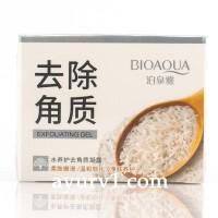 Гель-скатка для лица с экстрактом риса, Bioaqua Exfoliating Gel, Китай, 140 g