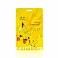 Тканевая маска для сужения пор и контроля жирности кожи/ Pokemon Edition Pore Mininizing Mask Sheet Pikachu, Cathy Doll /25g