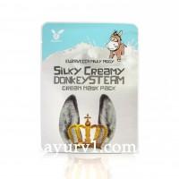 Тканевая маска для лица Milky Piggy Silky Creamy Donkey Steam Cream Mask Pack  Elizavecca 25мл