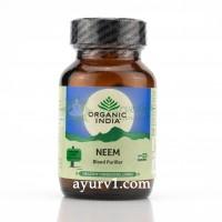 Ним, Neem, Ниим / Органик Индия / Herbal Antibiotic, Organic India / 60 caps