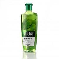 Обогащенное масло для волос с рукколой, Ватика Дабур, Vatika Dabur, ОАЭ, 200 ml