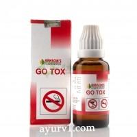 Капли для снятия тяги к табаку и алкоголю Гоу Токс Go Tox 30 мл