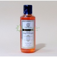 Травяной гель для душа Апельсин и Лимонгресс, Кхади / Herbal Body wash, Orange & Lemongrass citrus, Khadi / 210 ml