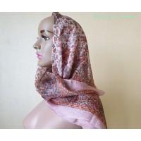 Супер легкий шелковый, индийский платок