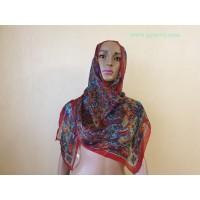Супер легкий шелковый, индийский шарф.