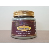 Хна для волос коричневая Кхади Khadi, Индия 110 г.