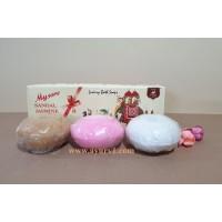 Сандаловое Мыло набор Mysore Sandal, Jasmine And Rose Soap, 450g
