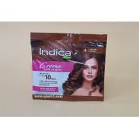 Натуральная краска для волос Натурально - Коричневый 4.00 Indica Crème Hair Color Natural Brown, 40 ml (20+20)