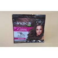 Натуральная краска для волос темно-коричневый 3.00  Indica Crème Hair Color Natural Brown, 40 ml (20+20)