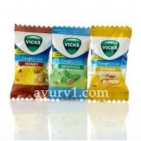 Леденцы Викс Vicks lollipops Индия 1 шт