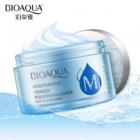 Ночная маска c для лица с гилауроновой кислотой /Bioaqua Moisturizing Tender Deep Ocean Water /50г