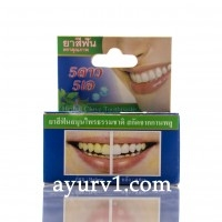Зубная паста 5STAR с маслом гвоздики, мятой и ромашкой / Herbal Clove Toothpaste / 25 г