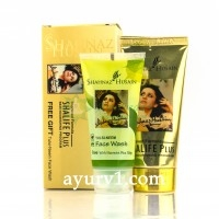 Набор Крем для лица Shalife Plus Shahnaz Husain +Tulsi - Neem Face Wash Shahnaz Husain, 60 мл+50 мл