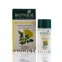 Омолаживающая сыворотка с одуванчиком Био Одуванчик / Биотик, Biotique Bio Dandelion Ageless Lightening Serum / 40 мл