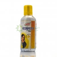 Махабрингарадж масло индийское для роста волос Shri Ganga 200 мл.