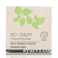 Матирующая пудра, ROREC, No Sebum Mineral Powder 5g