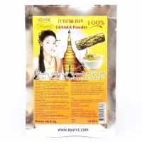 Натуральная порошковая маска пудра для лица из 100% дерева, Исми / Танака Isme Rasyan / Таиланд / 20 г