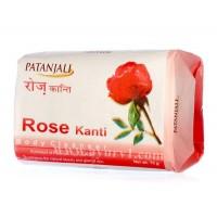 Мыло с экстрактом розы Канти Патанджали / Patanjali / Индия / 75 г