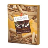 Осветляющая маска для лица с экстрактом сандала, Ozone Sandal Face Pack, Индия, 25 г