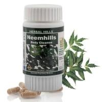 Капсулы Ним, Нимхиллс / Neemhills - Очищающее Средство Для Крови Herbal Hills / 60 таб
