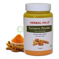 Куркума Хиллс - справляется со многими болезнями намного лучше, чем антибиотики/ Turmeric Herbal Hills  / 100 гр