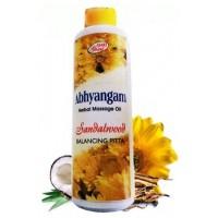 Массажное масло Сандаловое, для Питты SHRI Ganga Abhyangam Cedarwood, 200мл