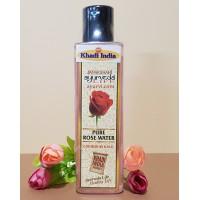 Чистая розовая вода, КХАДИ / PURE ROSE WATER KHADI 200 ML