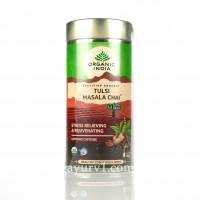 Тулси Масала чай  Tulsi Masala Chai , Organic India 100 г