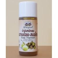 Тайское масло для  кожи головы и корней волос / Abhaibhubejhr Scalp Treatment Herbal / 45 мл