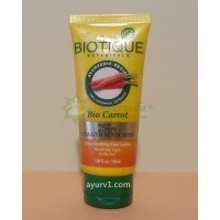Лосьон Био Морковь спф +25 / Bio Carrot Face Lotion spf +25, Biotique / 50 мл