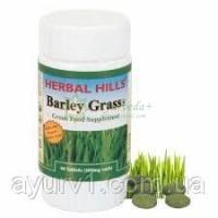 Трава ячменя, экстракт в таблетках / Herbal hills Barley grass / 60 таб