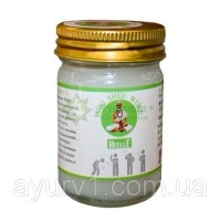 Белый тайский бальзам / Mho Shee Woke, Beelle / Тайланд /  50 гр.