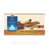 Чай Тадж Махал,  черный, масала в пакетах / Taj Mahal Rich Masala, Brooke Bond / 25  пакетов по 2 г