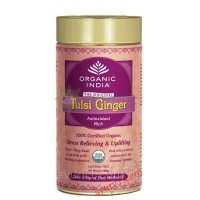 Чай Тулси Джинджер Органик Индия / Tulsi Ginger, Organic India
