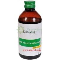 Индукантамрит - желчегонный сироп / Indukantamritam, Arya Vaidya Sala / 200 мл