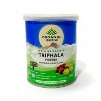 Трифала порошок Органик Индия, Organic India Triphala Powder 100gm
