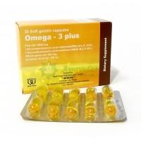Omega – 3 Plus capsules, Омега - 3 Плюс, 30 кап